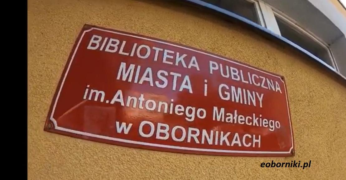 Obornicka biblioteka zamknięta do 25 marca