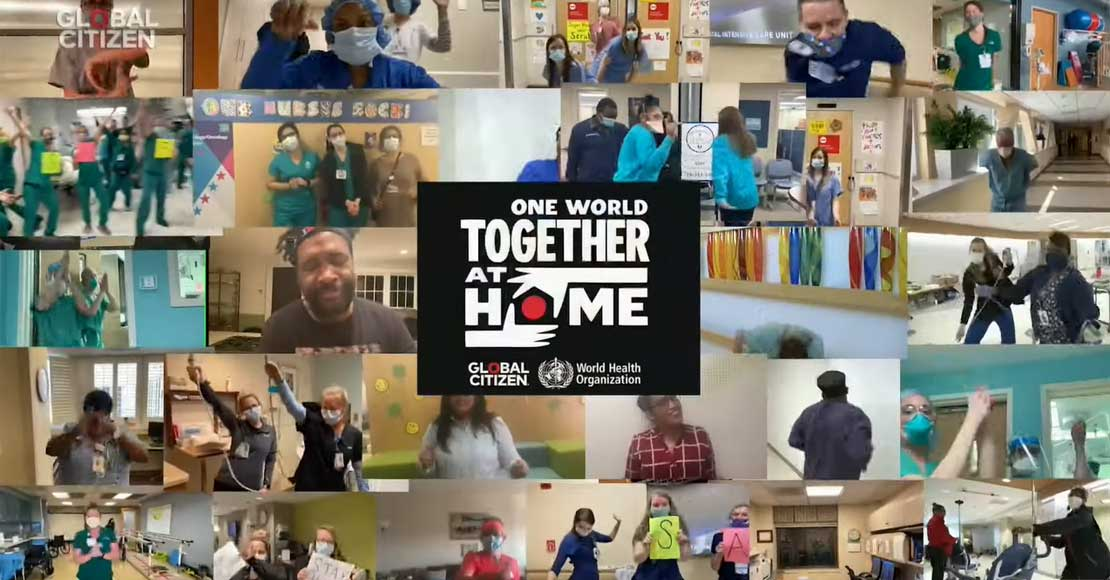 """Największy na świecie koncert online: """"One World: Together at Home"""""""
