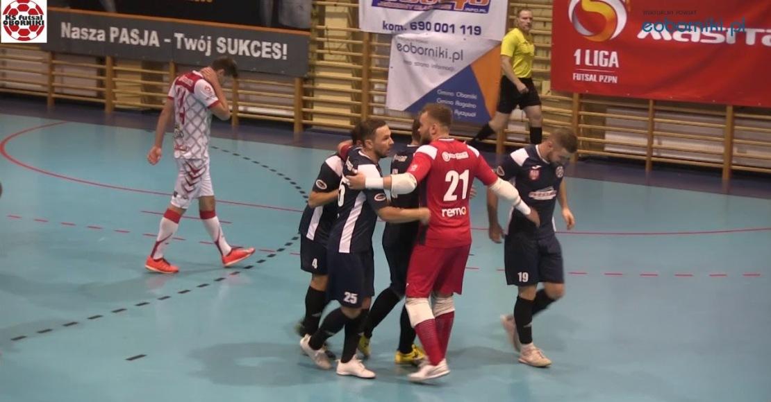 KS Futsal Oborniki zagra z KS Gniezno jednak 5 stycznia (film)