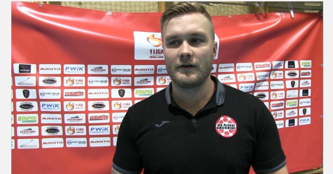 Wywiady po meczu KS Futsal Oborniki - KS Futsal Piła