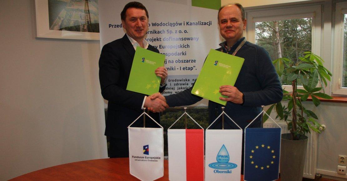 Kolejna umowa na roboty budowlane w ramach Projektu dofinansowanego z Unii Europejskiej została podpisana