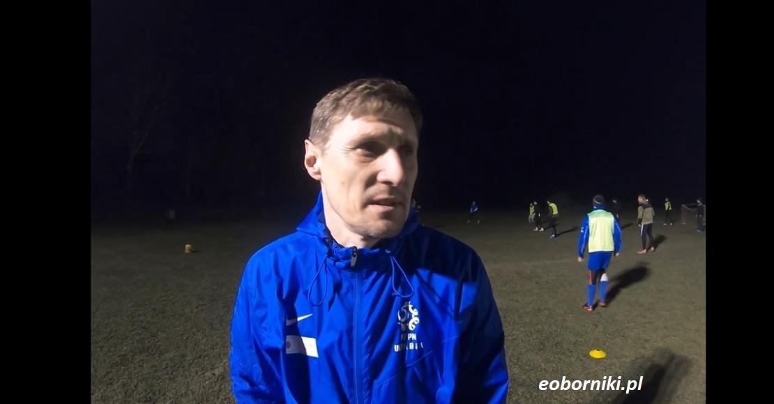 Mariusz Drewicz o przygotowaniach LKS Lipa (wywiad)
