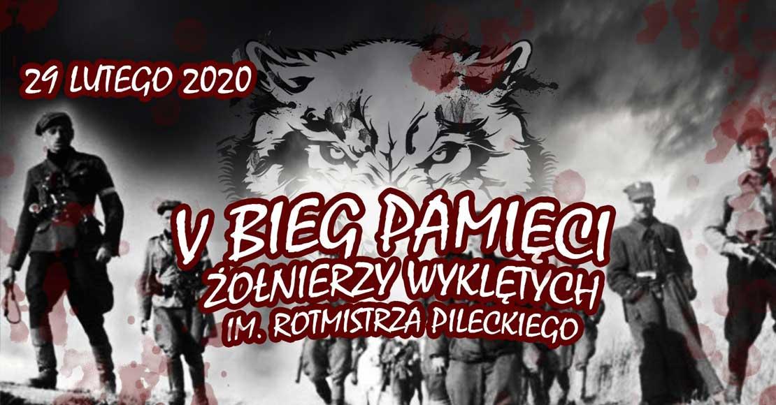 UWAGA dziś V Bieg Pamięci Żołnierzy Wyklętych im. Rotmistrza Pileckiego