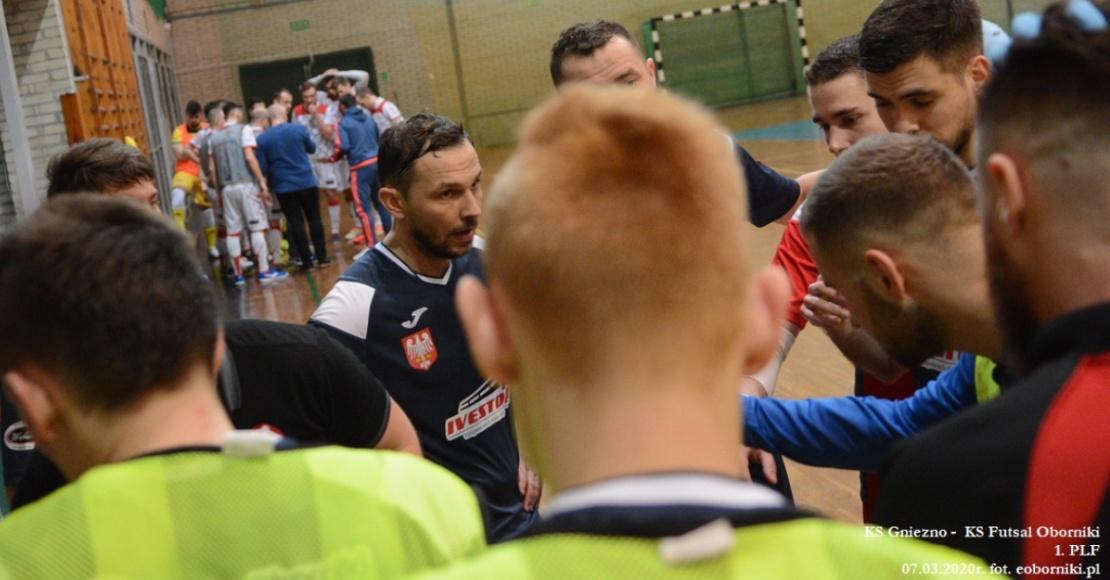 KS Futsal Oborniki zagra w niedzielę bez publiczności