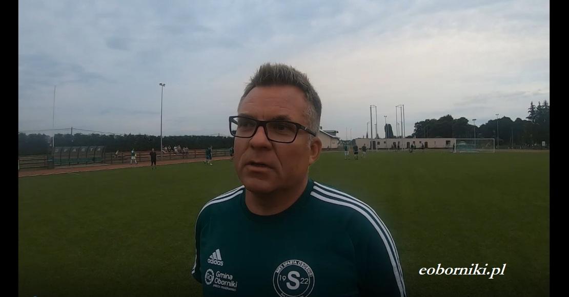 Trener Piotr Kucharski o nowym sezonie Sparty Oborniki (film)