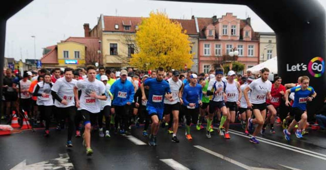 W wirtualnych biegach uczestniczy nawet po kilka tysięcy osób(film)