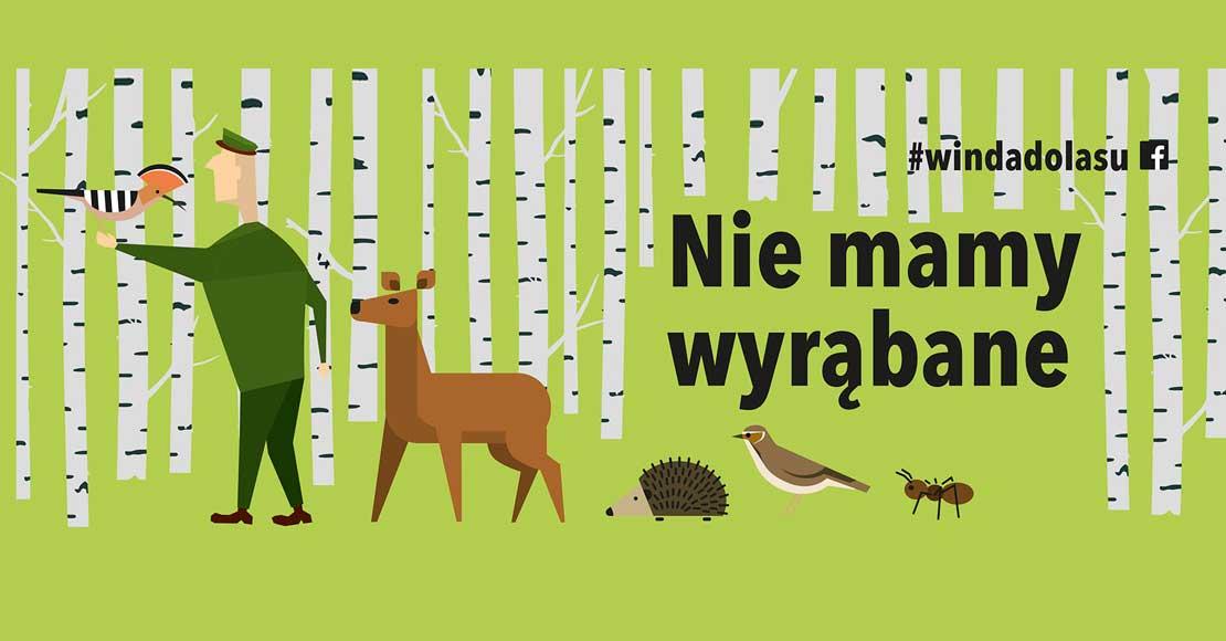 Z lasu wzięte…Nie mamy wyrąbane…
