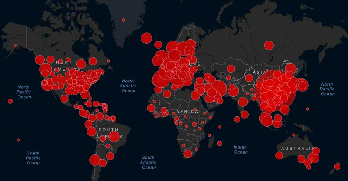 Jak rozwija się epidemia w skali globalnej?