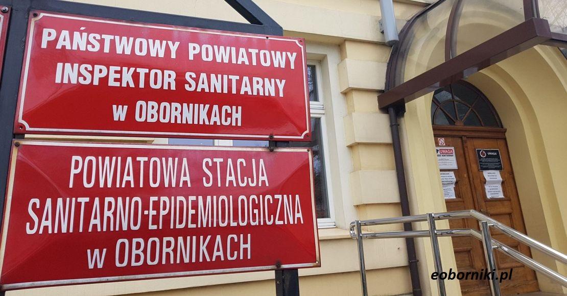 Komunikat PSSE w Obornikach - 18.04.2020