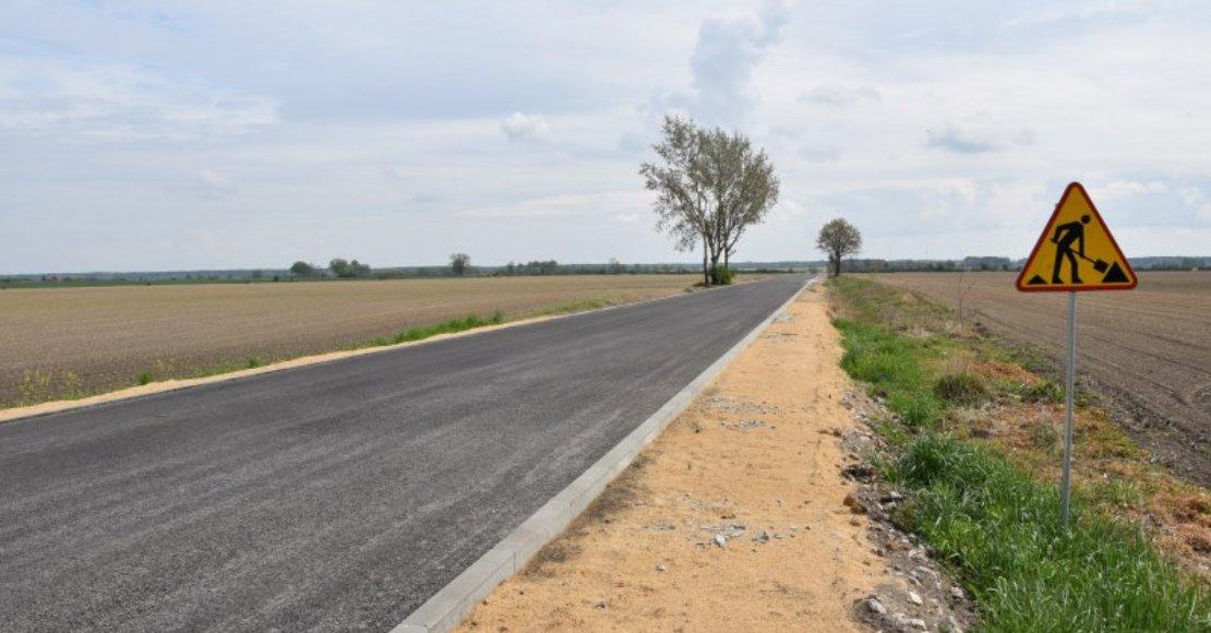 Trwa budowa drogi Tarnowo-Karolewo (foto)