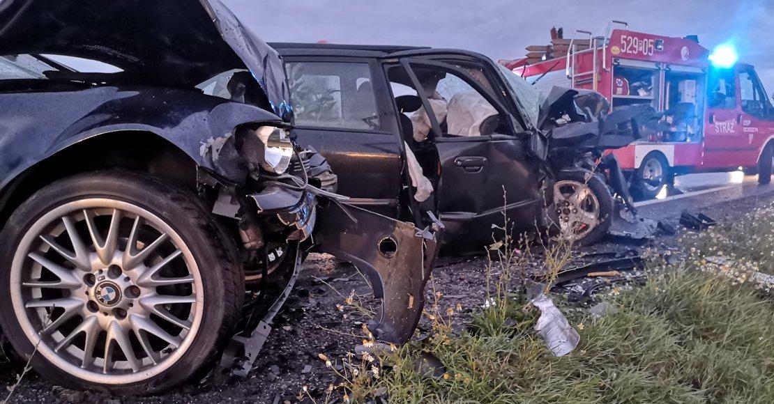 Policja poszukuje świadków wypadku w Ocieszynie