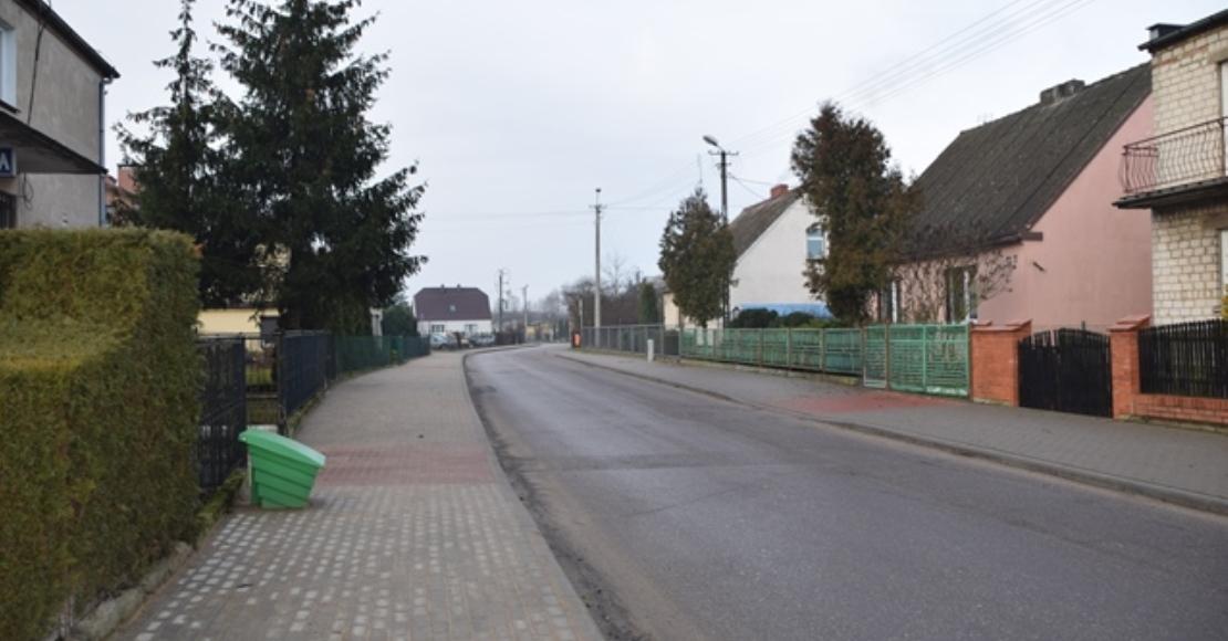 Odbiór końcowy przebudowy chodnika na ul. Marcinkowskiego w Ryczywole – ETAP II.
