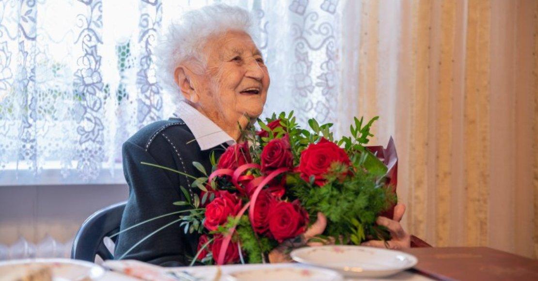 Setne urodziny mieszkanki Łukowa (foto)