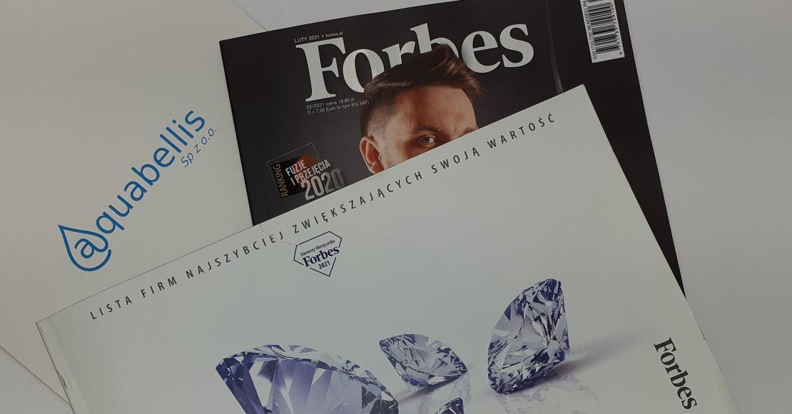 Aquabellis w gronie Diamentów Forbesa 2021!