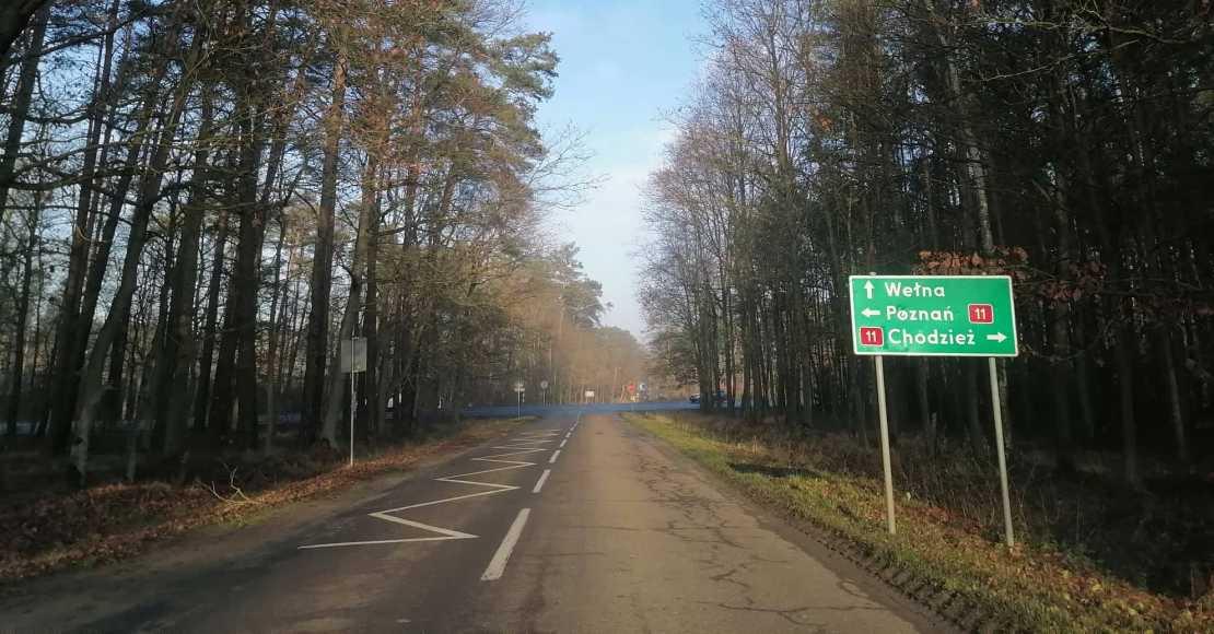 Zablokowana droga DK11