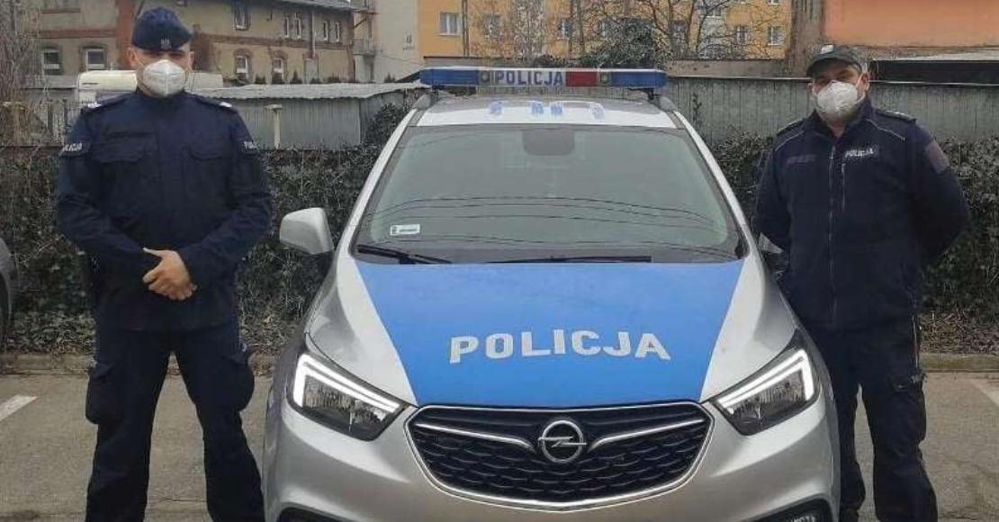 Rogozińscy policjanci zapobiegli  tragedii