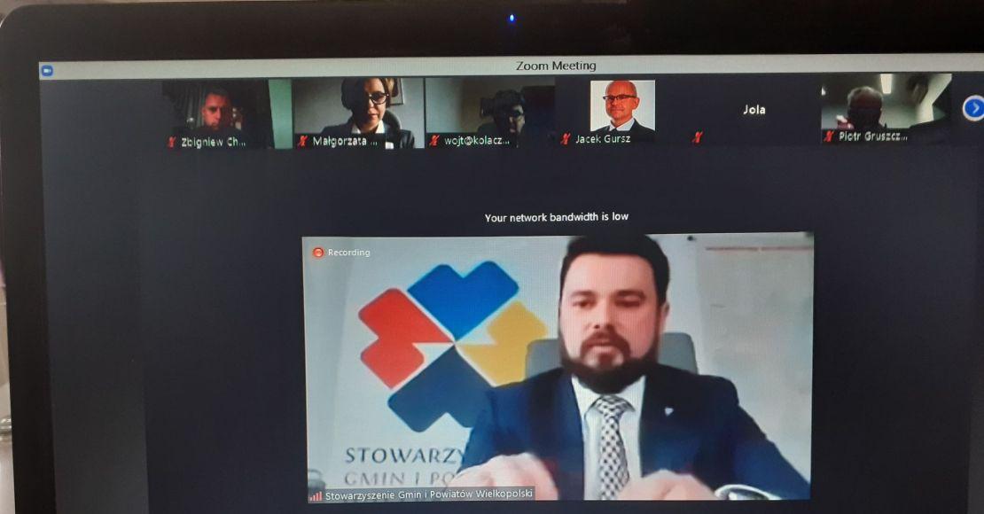 Zarząd Stowarzyszenia Gmin i Powiatów Wielkopolskich z absolutorium