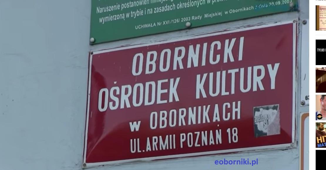 Zajęcia w Obornickim Ośrodku Kultury ciągle zawieszone