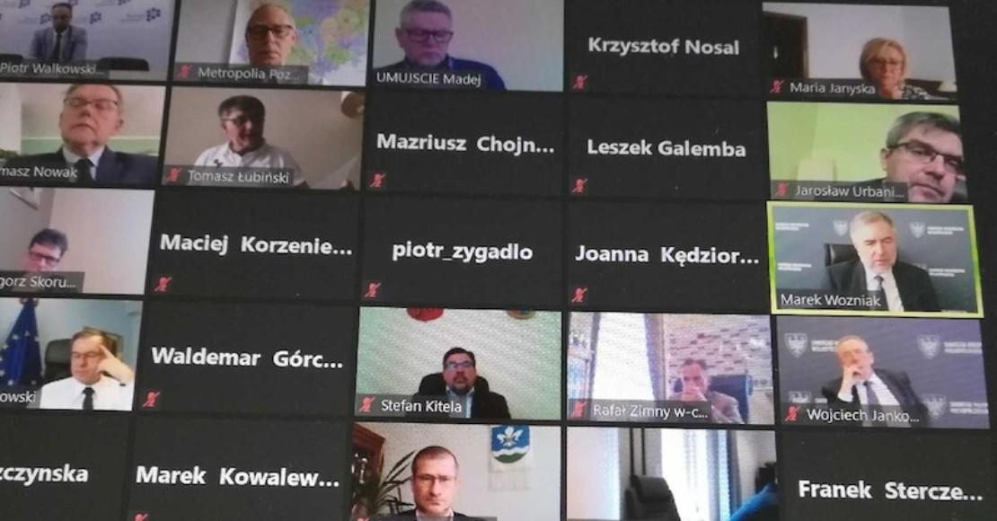Odbyło się spotkanie Wielkopolskiego Zespołu Parlamentarnego