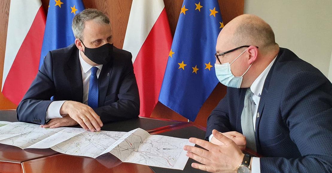 Wojewoda Zieliński spotkał się w sprawie budowy S11