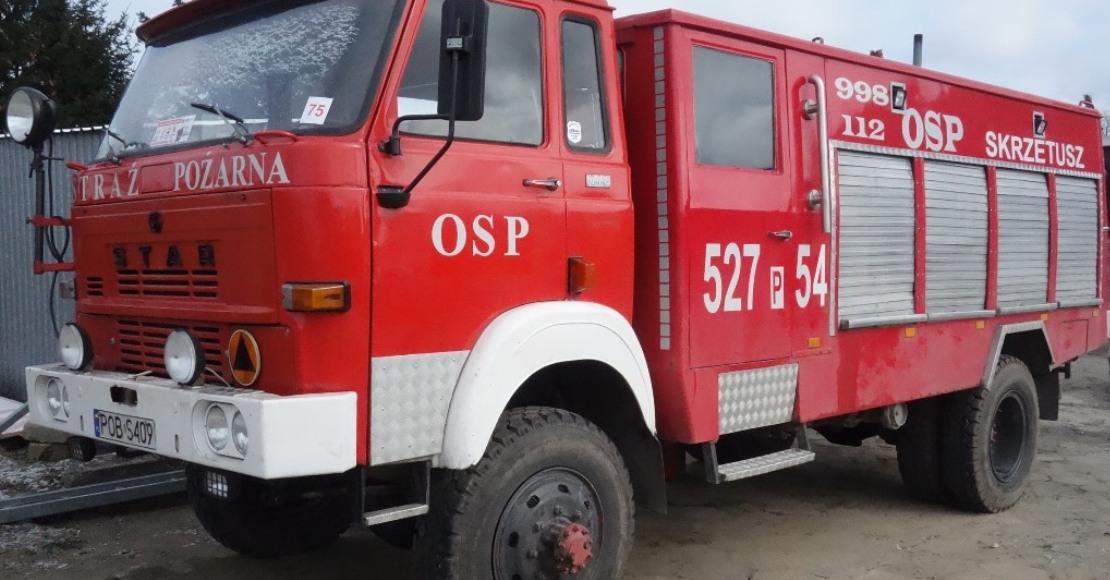 Można kupić wóz strażacki