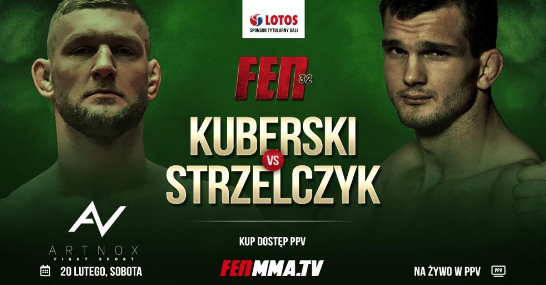 Piotr Kuberski będzie walczył z Mateuszem Strzelczykiem