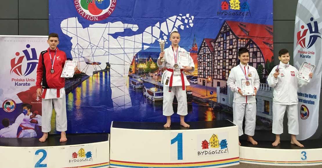 Sukces na międzynarodowym turnieju karate.