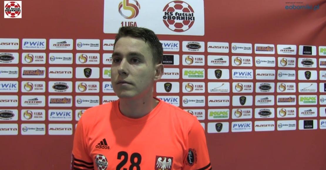 KS Futsal Oborniki z remisem. Bohaterem Szepczyński