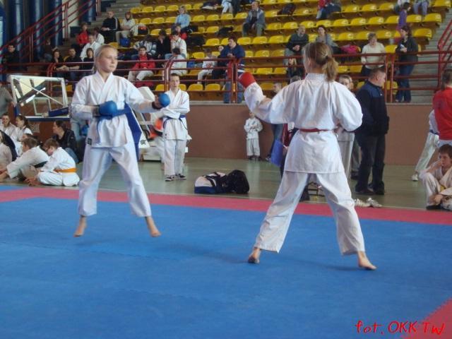 Sara Wosicka pierwsza od prawej, fot. OKK