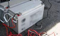 Zatrzymanie złodziei akumulatorów