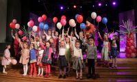 Śpiewające przedszkolaki.
