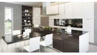 Przebudowa ciemnej kuchni w mieszkaniu
