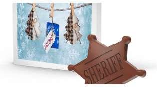 Kreatywne, czekoladowe upominki