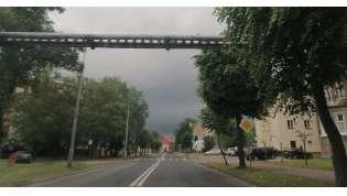 Mozliwe burze z deszczem i gradem